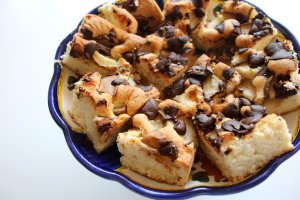 prajitura cu para si ciocolata (1)